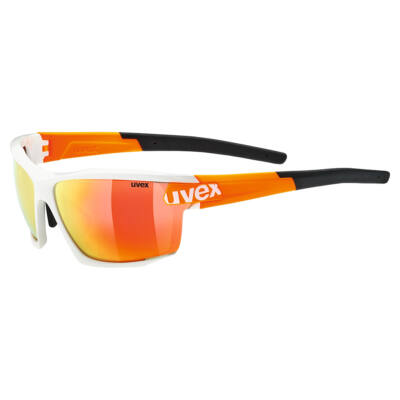 Uvex Sportstyle 113, white orange napszemüveg