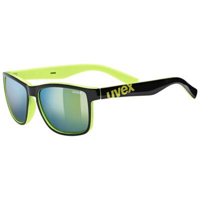 Uvex Lgl 39, black lime napszemüveg