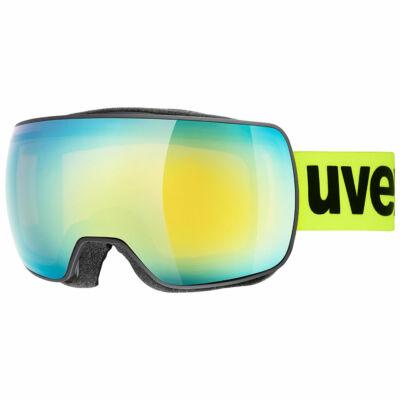 Uvex Compact FM, black mat síszemüveg
