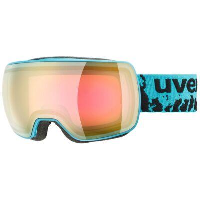 Uvex Compact FM, petrol mat síszemüveg