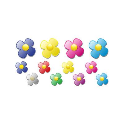 Futóbicikli matrica szett, virág