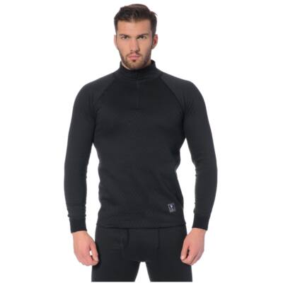 Thermowave 2IN1 Men's Long Sleeve Shirt, black aláöltöző felső