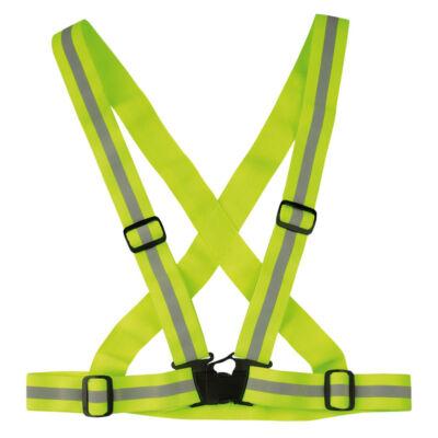 Wowow Cross Belt fényvisszaverő hám, sárga