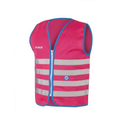 Láthatósági mellény Wowow Fun Jacket gyerek, pink