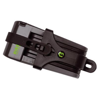 Bikefun X-Safe folding 70 cm, fekete kerékpár zár
