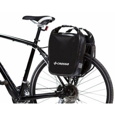 Crosso Dry small, fekete csomagtartó táska