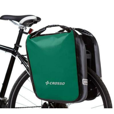 Crosso Dry big, sötétzöld csomagtartó táska