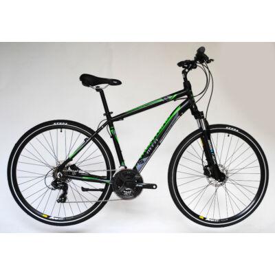 Montana Cross Trekking alu 2.0 21s HD fekete/zöld